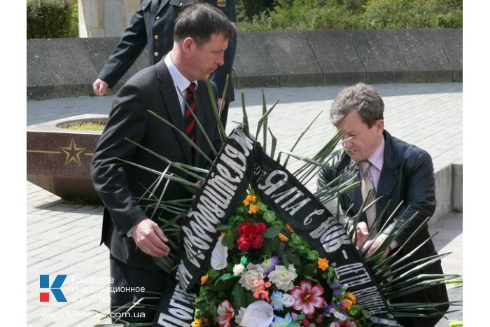 В Ялте отметили годовщину освобождения от немецко-фашистских захватчиков