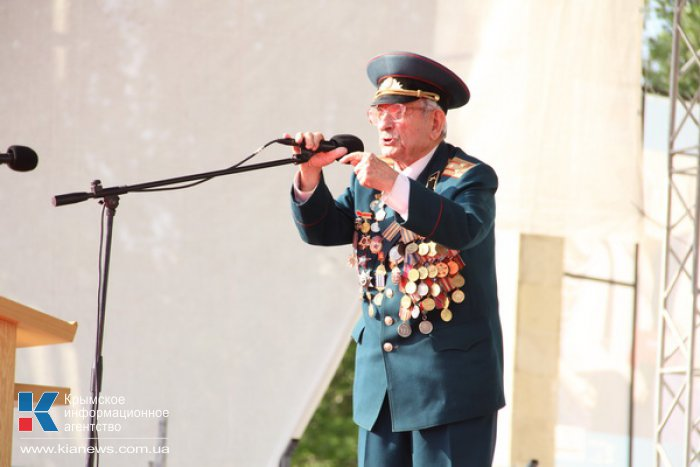 В Крыму антифашистский митинг собрал 22 тысячи человек