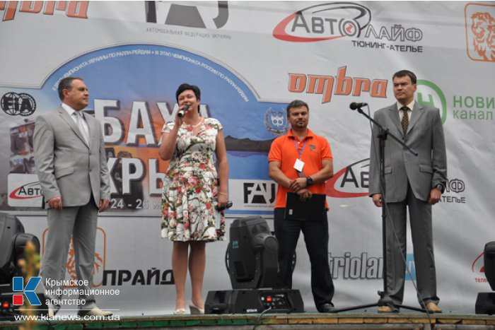 В Симферополе презентовали экипажи ралли-рейда «Крым»