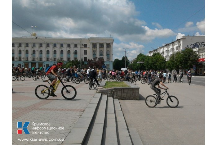 В Симферополе стартовал «Велодень»
