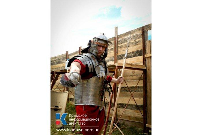 Под Симферополем скифы штурмовали крепость римлян