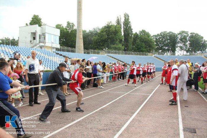 В Симферополе День здоровья отметили спортивными состязаниями