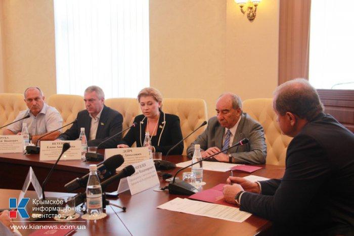 Парламентская комиссия по делам Крыма займется законом об инвестиционной деятельности