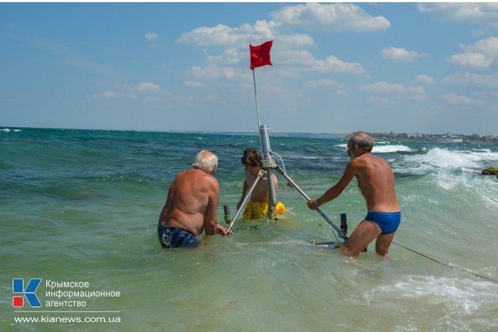 На Херсонесе проводят научные исследования берега