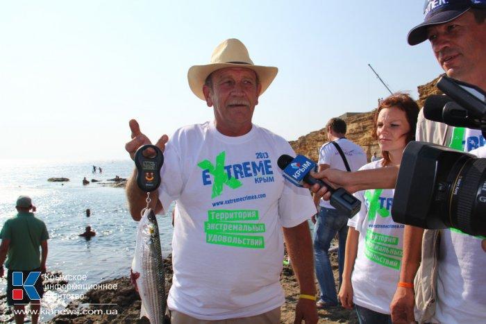 В Черноморском районе прошли соревнования подводных охотников
