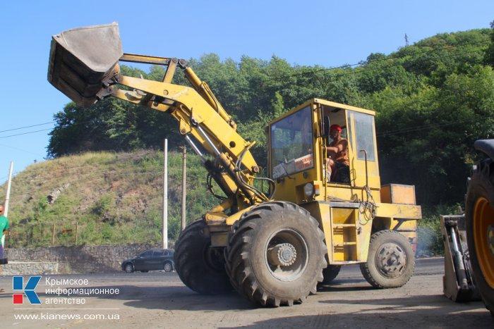 Реконструкцию 5 км ялтинской трассы закончат к октябрю