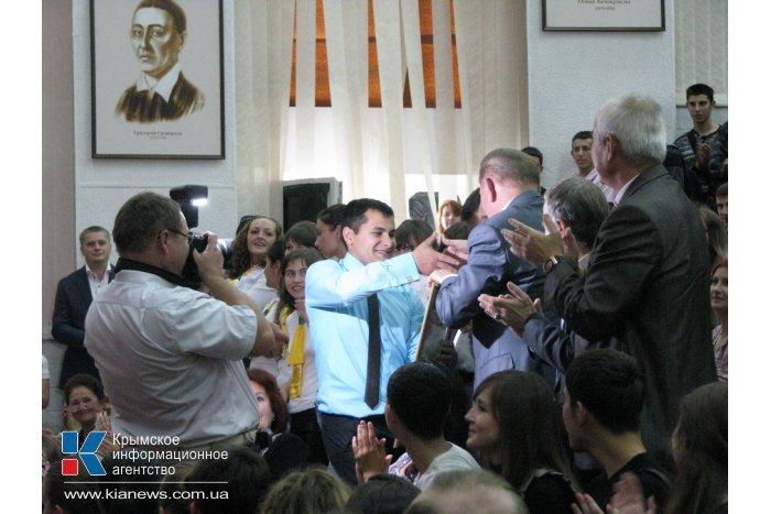 Второй президент Украины посетил Симферополь