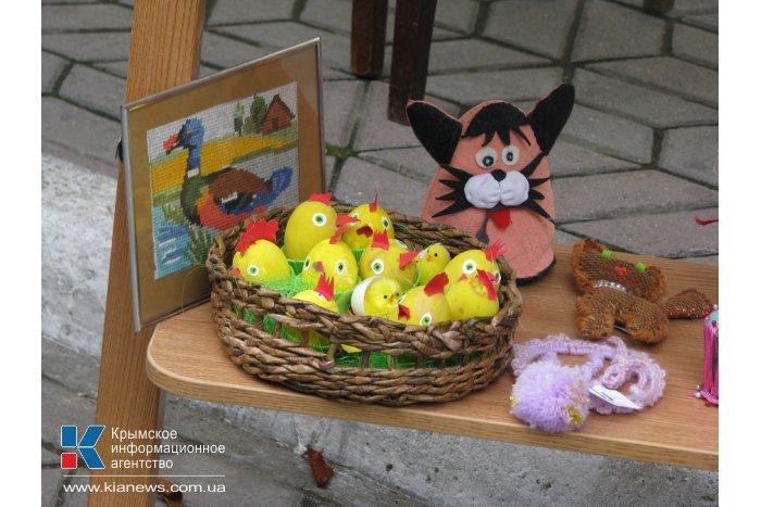 В Симферополе открылась благотворительная ярмарка