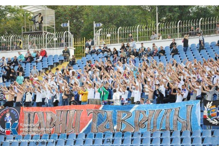 Харьковчане разгромили «Таврию»