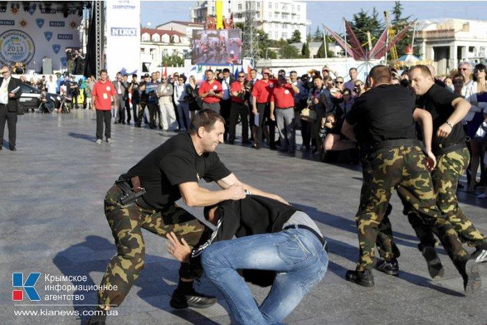 В Ялте проходят соревнования телохранителей