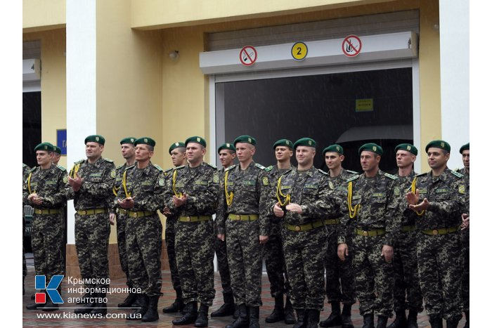В Ялте открыли обновленный отдел пограничной службы