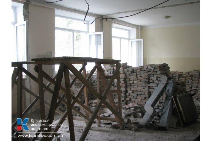 Ремонт отделения кардиохирургии в больнице Симферополя завершат к концу года