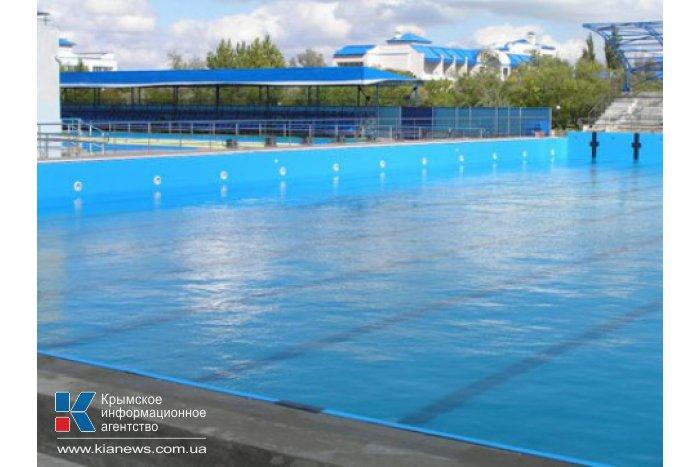 В Евпатории завершается строительство бассейна для параолимпийцев
