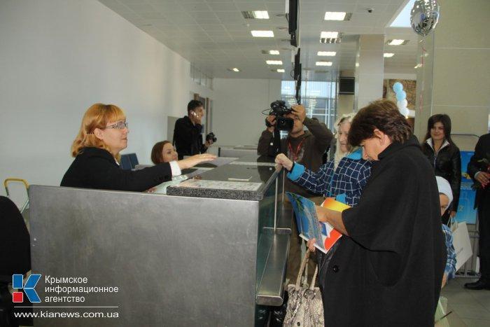 Аэропорт Симферополя принял миллионного пассажира