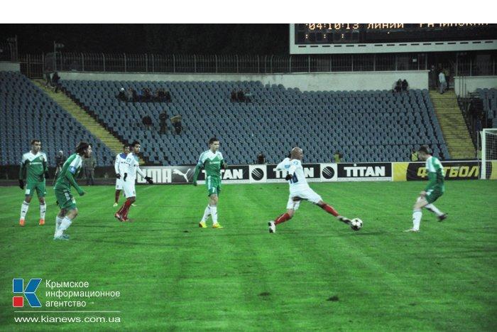 «Таврия» проиграла «Ворскле» 0:1