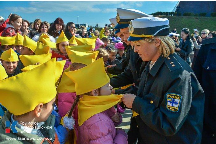 Около 3 тыс. школьников посвятили в «севастопольцы»