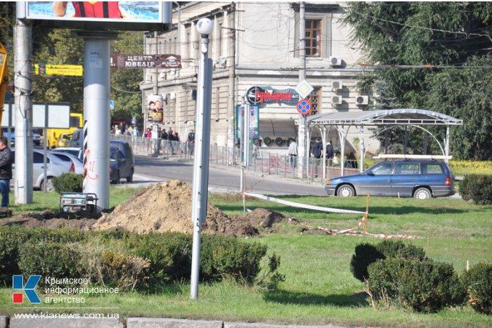 В центре Симферополя на площади установят мультимедийные экраны