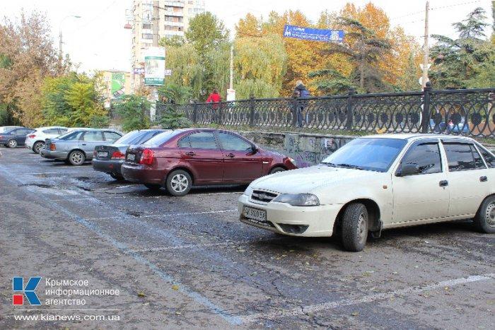 «Крымтранспарксервис» открыл в Симферополе первую парковку