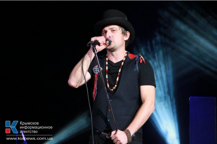 Группа «Ундервуд» на концерте в Симферополе признавалась в любви Крыму