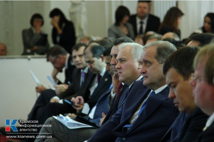 В Ялте проходит Черноморский экономический форум