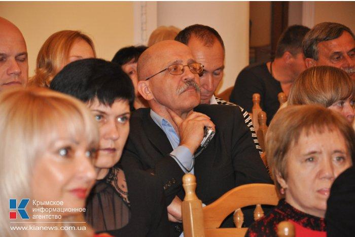 В Крыму наградили победителей конкурса журналистов «Серебряное перо»