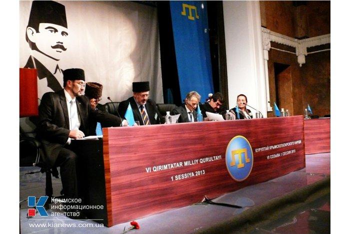 Открылся курултай крымских татар в Крыму