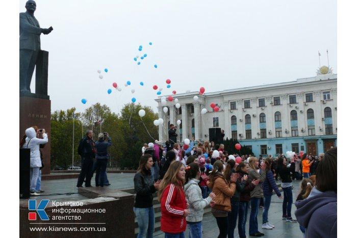 В Симферополе прошел тысячный танцевальный флешмоб