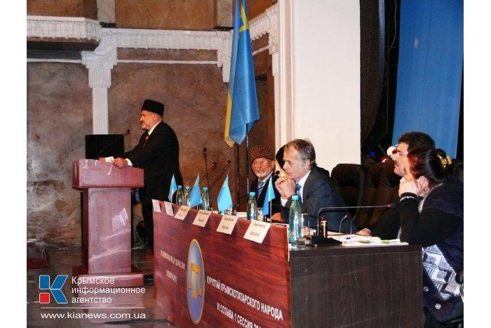 Крымские татары выбрали нового лидера меджлиса