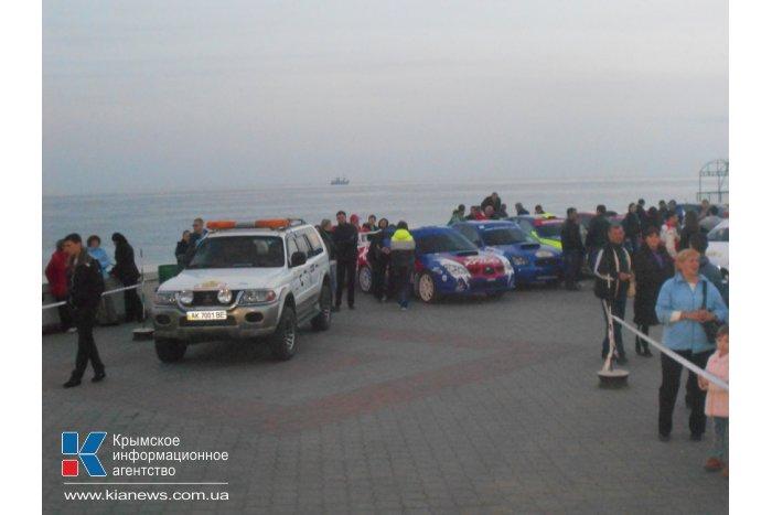 В Алуште провели соревнования по ралли