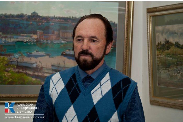 В Севастополе открылась персональная выставка Владимира Ольхова