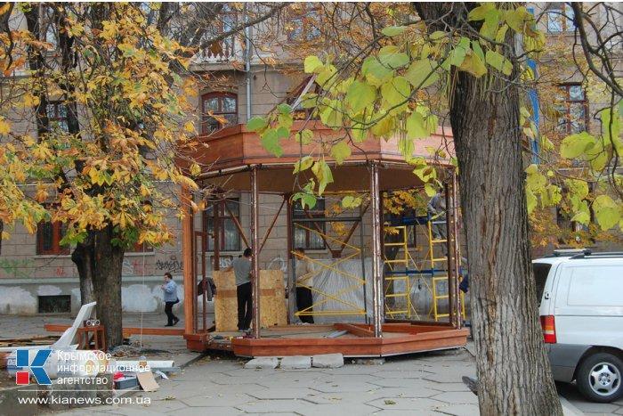В Симферополе устанавливают похожее на «Коффишку» кафе