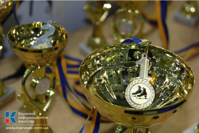 В Симферополе проходит этап кубка Украины по фигурному катанию