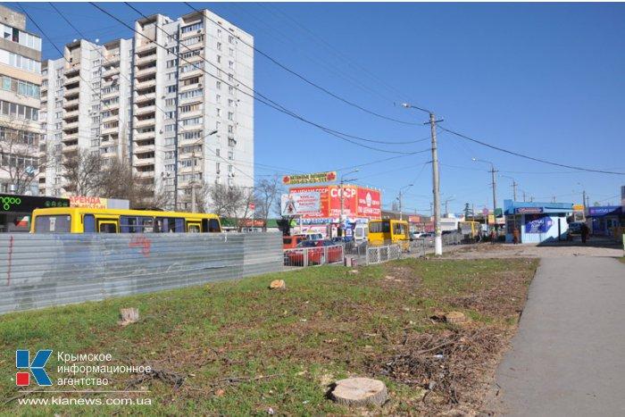 На проспекте в Симферополе начали реконструкцию дороги