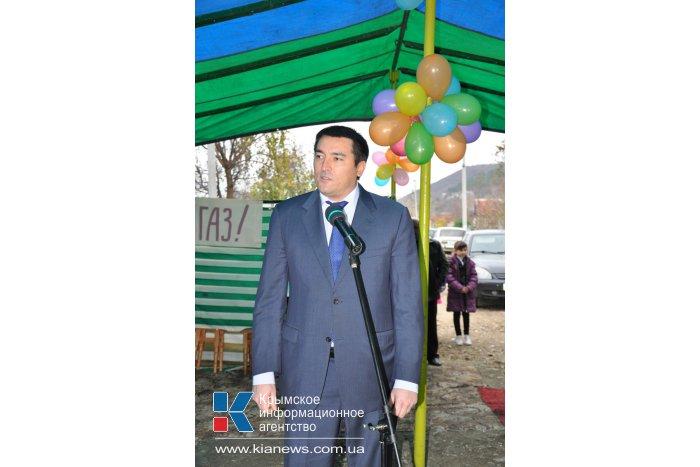 В селе Бахчисарайского района появился газ