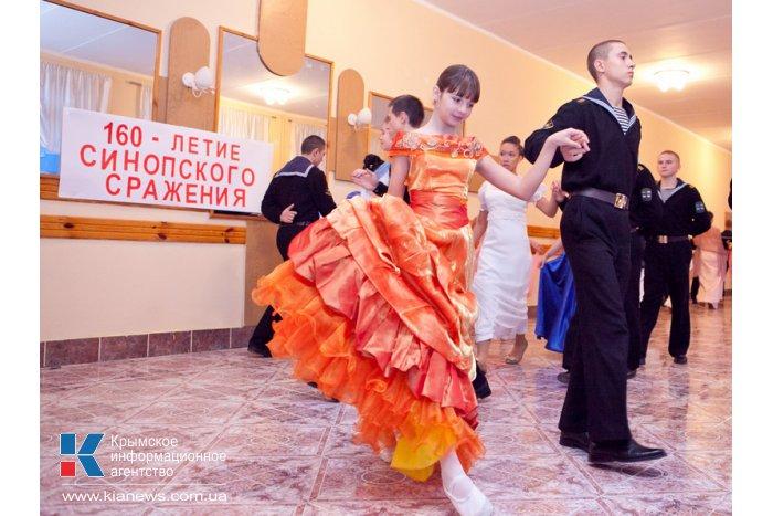 В Севастополе прошел бал по случаю 160-летия Синопской победы