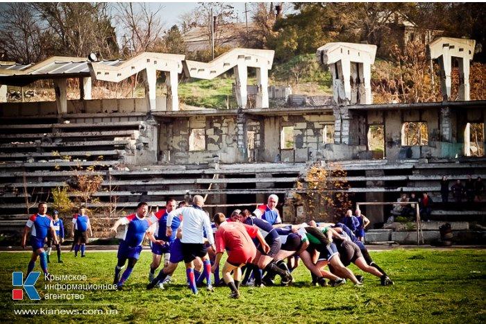 В Севастополе разыграли кубок по регби