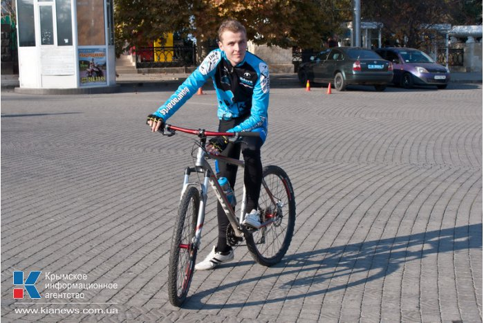 В Севастополе провели велопробег «Пересаживаемся на эко»