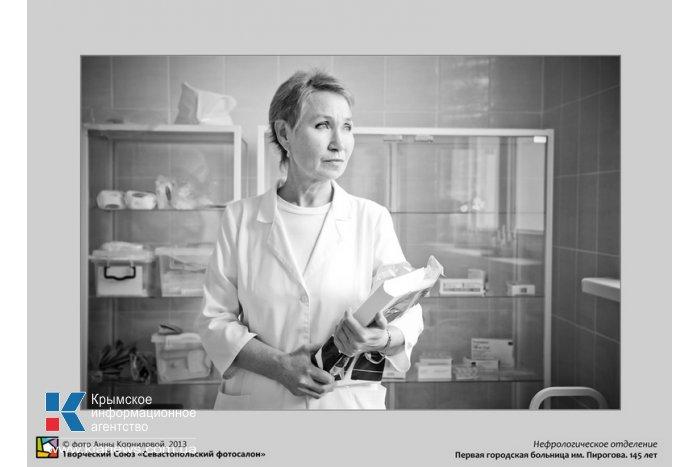 В Севастополе представили портреты врачей