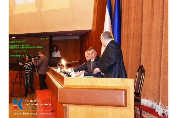 Крымские депутаты призвали Президента навести порядок в стране