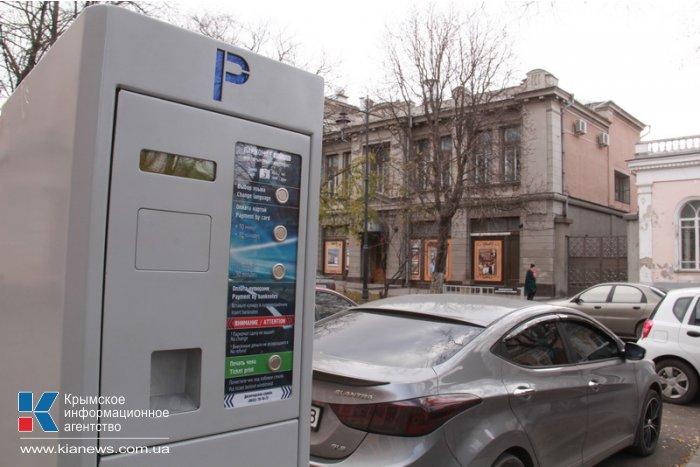 В Симферополе открылось пять новых парковок