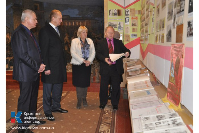 Первый вице-премьер посетил с рабочим визитом Белогорский район