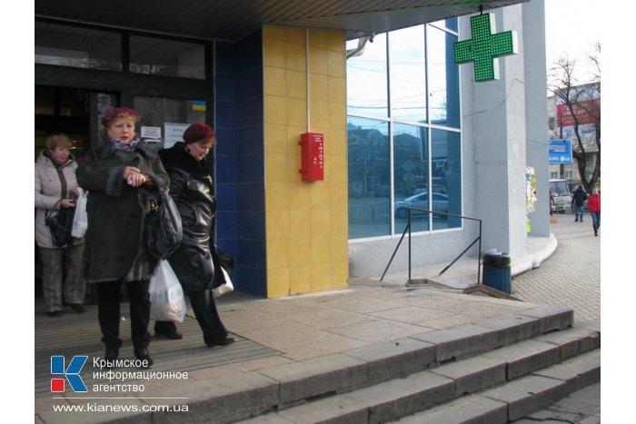 В Симферополе установили первую кнопку экстренного вызова помощи