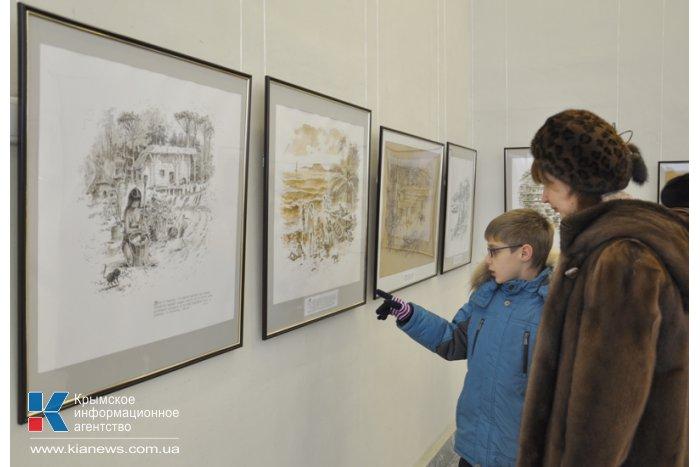 В Симферополе открылась выставка крымского пейзажиста