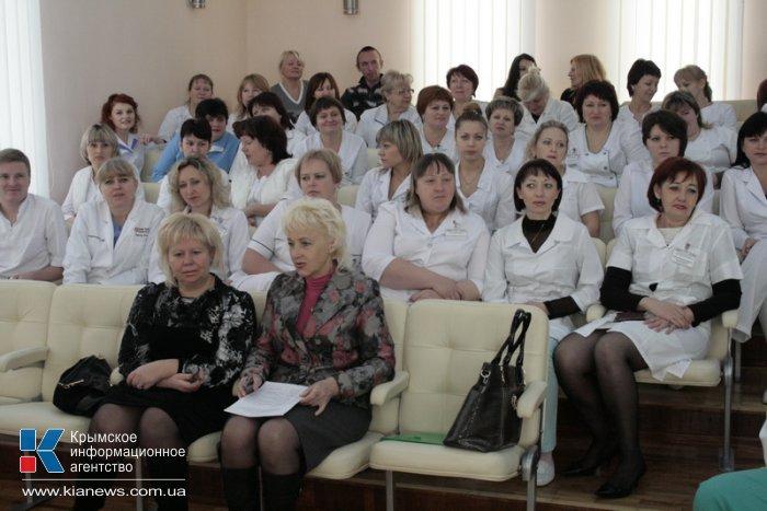 Перинатальный центр в Крыму отметил первую годовщину