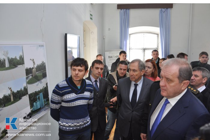 В Симферополе презентовали проекты мемориального комплекса морякам-черноморцам