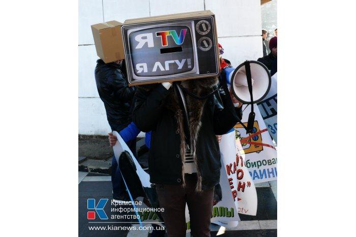 Крымчане призвали центральные телеканалы объективно освещать события