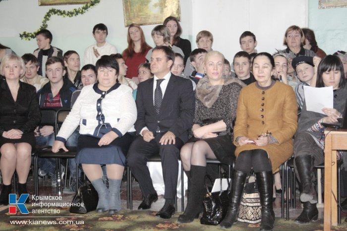 Воспитанники школы-интерната для слабослышащих детей получили подарки ко Дню святого Николая