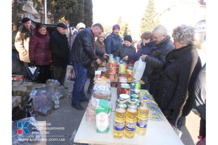 В Алуште провели новогоднюю сельхозярмарку
