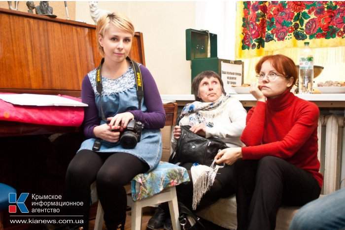 В Севастополе встретили московских художников