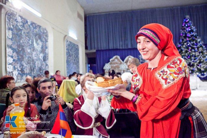 Национальные общины Севастополя отметили Рождество